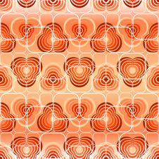 Free Seamless Red Pattern Stock Photography - 9400812