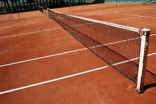 Tennis Playground Royalty Free Stock Photo