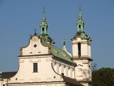 Free Cracow - St. Stanislaus Church Royalty Free Stock Images - 9400849