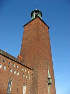 Free Stockholms Stadshuset (city Hall) Royalty Free Stock Photos - 9401068