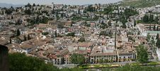 Panorama Of The City Of Granada, Spain Royalty Free Stock Photography