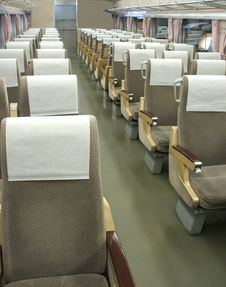 Free Train Seats. Stock Photography - 9401622