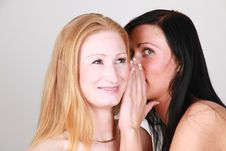 Free Whispering Girls Stock Photos - 9401863