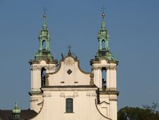 Free Cracow - St. Stanislaus Church Royalty Free Stock Image - 9402316