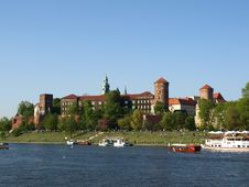 Free Wawel Hill Wawel Castel Krakow Royalty Free Stock Photography - 9402437