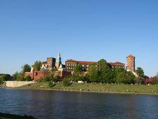Free Wawel Hill Wawel Castel Krakow Stock Photography - 9402552