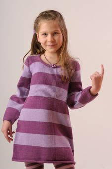 Free Adorable Girl Stock Image - 9402611
