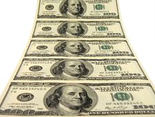Free One Hundred Dollars Endless Way Stock Images - 9402674