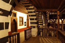 Free Rilski Monastyr By Night Royalty Free Stock Photography - 9402907