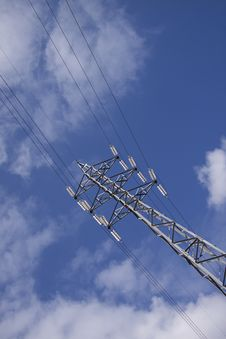 Free Energy, Led By The Transmitting Tower Stock Photography - 9403012