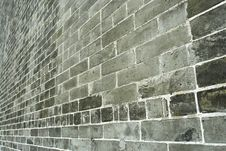 Free Old Brick Wall Royalty Free Stock Photography - 9404187
