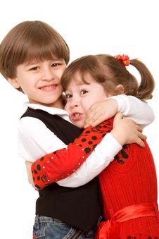 Free Hug Stock Image - 9404441