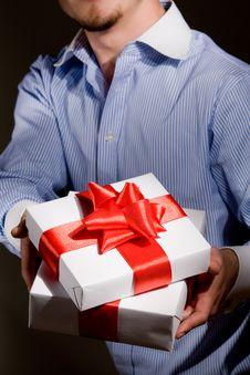 Free Gift Royalty Free Stock Photo - 9404515