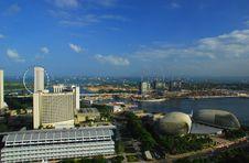 Free Singapore City View Royalty Free Stock Image - 9406756