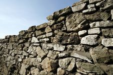 Free Limestone Brick Wall Stock Images - 9406924