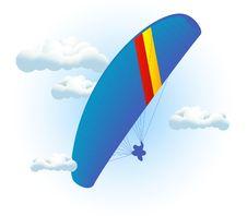 Free Parachute Stock Photography - 9407342