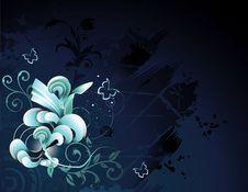 Free Vector Flower Illustration Stock Photo - 9408950