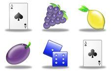 Free Slot Machine Simbols (03) Stock Image - 9409181