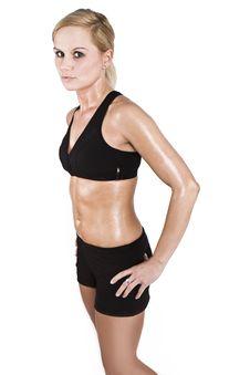 Free Fitness Woman Royalty Free Stock Photo - 9409265