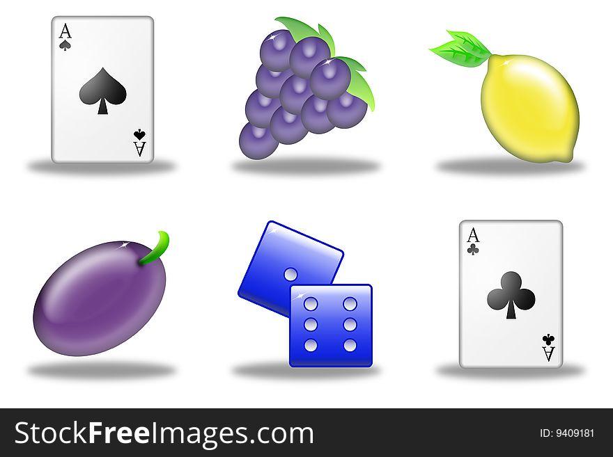 Slot machine simbols (03)