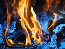Free Fire, Flame, Heat, Campfire Royalty Free Stock Photo - 94002685