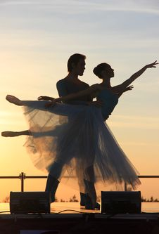 Free Dancer, Silhouette, Sky, Evening Royalty Free Stock Photography - 94002937