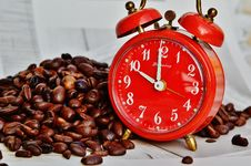 Free Coffee Break, Break, Alarm Clock Stock Photography - 94006502