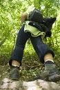 Free Trekker Stock Photography - 9412852