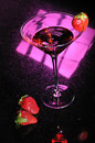Free Stawberry Martini Stock Photography - 9415832