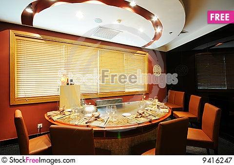 Free Restaurant Royalty Free Stock Photography - 9416247