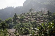 Free Refugee Village Stock Image - 9412561