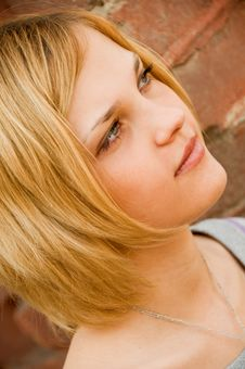 Free Portrait Of Young Beautiful Woman Royalty Free Stock Photos - 9412758