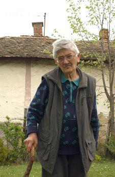 Free Granny Royalty Free Stock Photos - 9412788