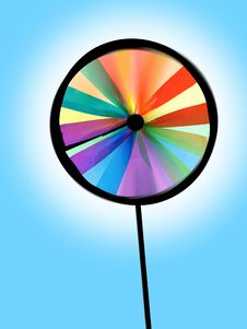 Free Colourful Pinwheel Stock Photography - 9413122