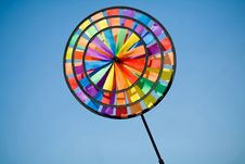Free Colourful Pinwheel Stock Photo - 9413150