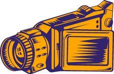 Free Video Camera Royalty Free Stock Photo - 9413715