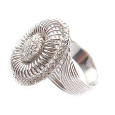 White Gold Ring Stock Photos