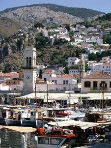 Free Greek Island Royalty Free Stock Images - 9415099