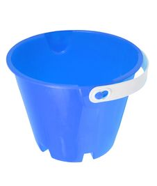 Free Blue Bucket Royalty Free Stock Photo - 9415255