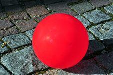Free Red Ballon Royalty Free Stock Image - 9415256