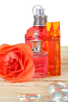 Free Perfume Bottles Royalty Free Stock Images - 9416659