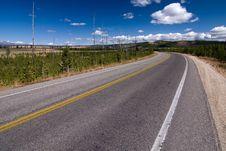 Free Empty Highway Royalty Free Stock Photo - 9417825