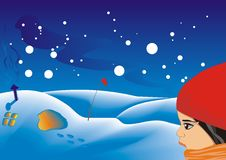 Free Winter Scene Royalty Free Stock Image - 9418526