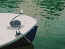 Free Boat, String On River Stock Photo - 9419110