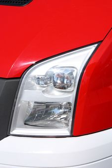 Free Car Headlight Royalty Free Stock Image - 9419526