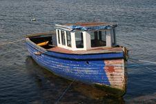 Free Fishing Boat Royalty Free Stock Photography - 9419577