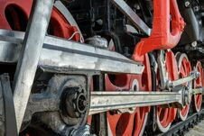 Wheels And Drive Mechanisms Royalty Free Stock Image