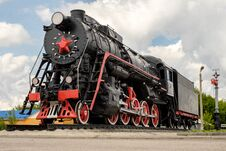 Free Soviet Locomotive Royalty Free Stock Photo - 94141095