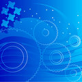Free Abstract Blue Background Royalty Free Stock Photography - 9426687