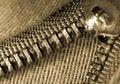 Free Zipper Macro Royalty Free Stock Image - 9427926